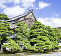 Nijo Castle, Kyoto, Japan Royalty Free Stock Image