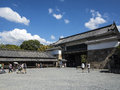 Nijo jo castle in kyoto castel japan Stock Photography