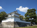 Nijo jo castle in kyoto castel japan Royalty Free Stock Images