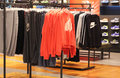 Nike store view of interior Royalty Free Stock Image