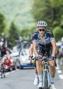 Niki Terpstra on Col du Tourmalet - Tour de France 2014 Royalty Free Stock Photo