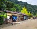 Nikko edomura edo wonderland is a history theme park recreating japanese town life during the period Royalty Free Stock Photography