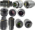 Nikkor Lenses Royalty Free Stock Photos