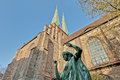 The nikolai kirche in berlin germany saint nicholas church is oldest church Stock Images
