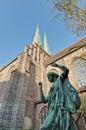 The nikolai kirche in berlin germany saint nicholas church is oldest church Royalty Free Stock Photo