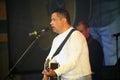 Nikolay rastorguev the group lube gala concert Stock Photo