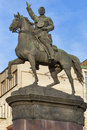 Nikolay Shchors monument in Kiev, Ukraine. Royalty Free Stock Images
