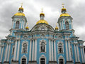 Nikolsky cathedral, St. Petersburg Royalty Free Stock Photo