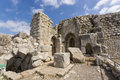 Nimrod Fortress Ruins gate Royalty Free Stock Photo