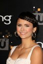 Nina dobrev at the cw premiere party presented by bing warner bros studios burbank ca Royalty Free Stock Images