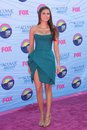 Nina dobrev at the teen choice awards arrivals gibson amphitheatre universal city ca Stock Photo