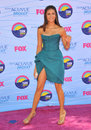 Nina dobrev at the teen choice awards at the gibson amphitheatre universal city july los angeles ca picture paul smith Royalty Free Stock Photos