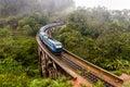 Nine Arches Bridge in Sri Lanka, Ella. Royalty Free Stock Photo