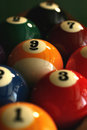 Nine Ball Royalty Free Stock Photos