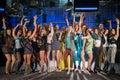 Nineteen Young People Having F...