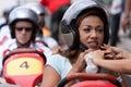 Ning Baizura at Moto GP OCt 09 Royalty Free Stock Photo