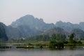 Ninh Bình limestone scenery