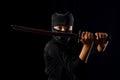 Ninja kid Royalty Free Stock Photo
