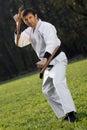 Ninja with tonfa