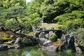 Ninomaru Gardens, Kansai Royalty Free Stock Photo