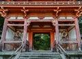 Estatua en templo en Japón