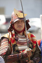 Nisei Week Samurai Royalty Free Stock Photo