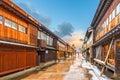 Nishi Chaya District in Kanazawa Japan Royalty Free Stock Photo