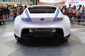 Nissan esflow concept car rear road to chinas west th chengdu motor show august th september th Royalty Free Stock Images