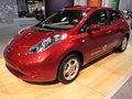 Nissan Leaf Electric Vehicle Royalty Free Stock Images