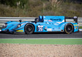 Nissan morgan the circuit under test Royalty Free Stock Photo
