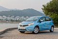 Nissan note Obrazy Stock