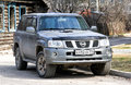 Nissan Patrol Royalty Free Stock Photo