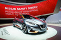 Nissan sway motor show geneve worls premiere of the at the th international geneva in palexpo switzerland photo taken on march th Stock Photo