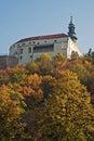 Nitriansky hrad na podzim, Slovensko