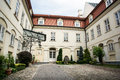 Nitra castle courtyard