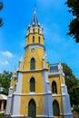 Niwet thamma pravat temple ayutthaya thailand Royalty Free Stock Photo