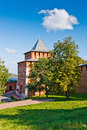 Nizhny novgorod kremlin russia ivanovskaya tower of Royalty Free Stock Photo