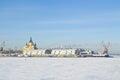Nizhny Novgorod. Oka River Royalty Free Stock Images