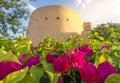 Nizwa castle Royalty Free Stock Photo