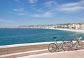 Nizza french riviera south of france or nice at the cote d azur Royalty Free Stock Images