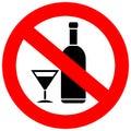 No alcohol drinks