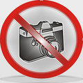 No Camera Royalty Free Stock Photo
