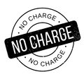 No Charge rubber stamp