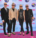 No doubt gwen stefani her group at the teen choice awards at the gibson amphitheatre universal city july los angeles ca picture Stock Image