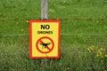 No drones Royalty Free Stock Photo