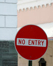 No Entry 2 Stock Photography