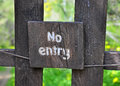 No entry sign stock photo Stock Image