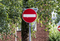 No entry sign Royalty Free Stock Photo
