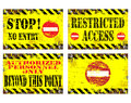 No Entry Signs Stock Images