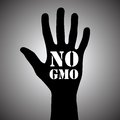 No gmo Royalty Free Stock Image